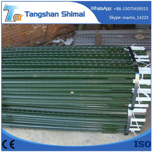 Top quality with bottom price Steel Fence Studded T post T Post For Heavy Duty Hot Sale Galvanized Field Fence