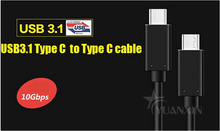 2016 Hot Sale Super Speed Plus 10Gbps and 100W USB 3.1 Type C cable