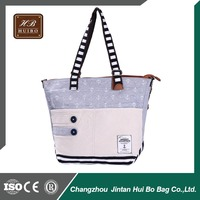 Day Use and Fabric Tote Bag Women Printing Handbag OEM manufacturer
