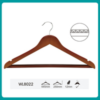 clothes hanger stand rubber coated coat hanger