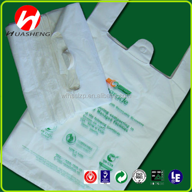 Bag! T-shirt shopping plastic bag! Cheap price printing t-shirt shopping plastic bag for food packaging