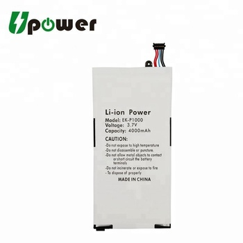 Replacement Tablet Battery SP4960C3A 3.8V 4000mAh Li-ion Battery for Galaxy Tab T1000 T1010