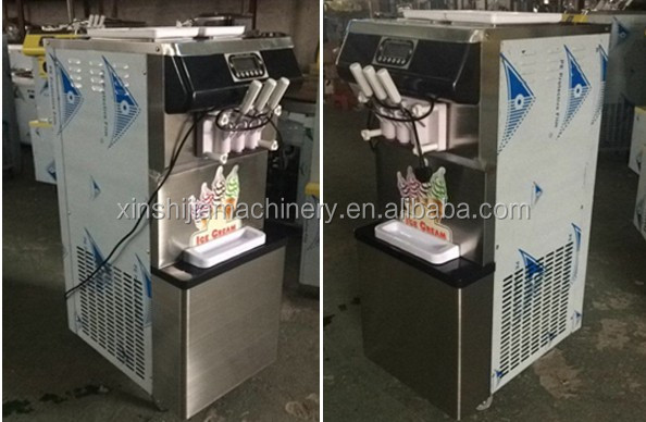 New cheap commercial soft ice cream machine for sale