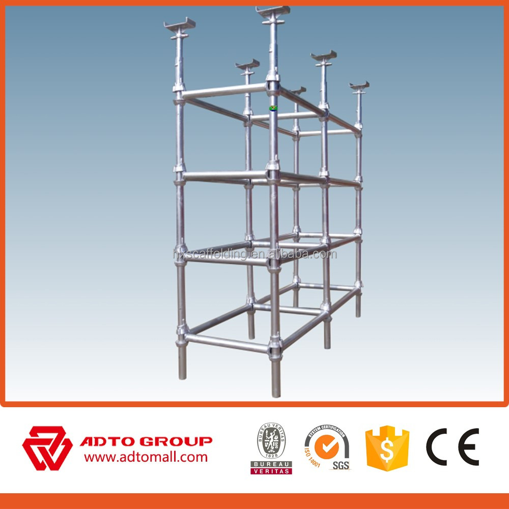 used construction scaffolding cuplock system /inertial navigation system /adjustable telescopic prop