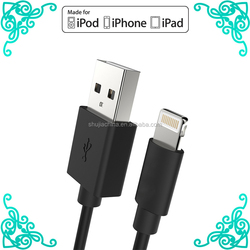 Standard USB 2.0 port for iphone 6 cable For iPhone 5 5S 5C 6 6Plus /iPad Air Air2 mini mini2 mini3 cable