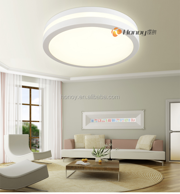 Factory price TUV/CE/ROHS hign-end product modern design living room Led ceiling lamps