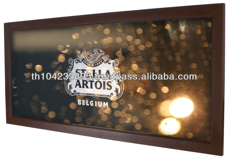 Customized Mirror with Wooden Frame