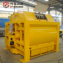 JS series 1m3 concrete mixing machine with skip hoist