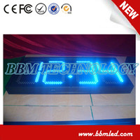 High quality price sign led digital gas station