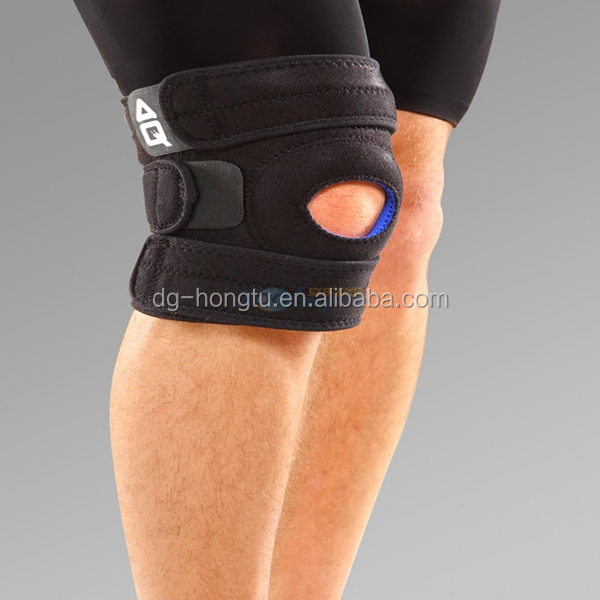 Open Holes Neoprene sport rom hinged adjustable knee brace and support