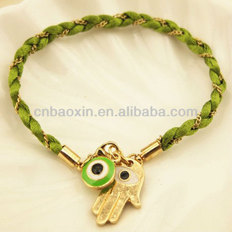 Fashion Turkish Eyes Charm Mouse Tail Bracelet Vners