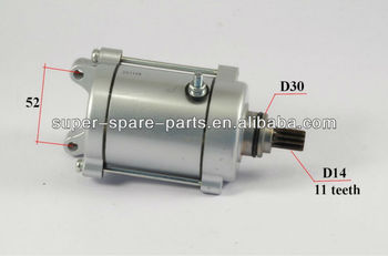 motorcycle starter motor 250cc for motorcycle