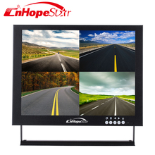 Security metal frame 10 inch open frame AV / BNC / HDMI input cctv mini monitor
