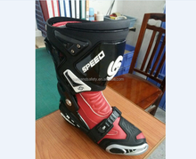 comfortable leather motorcycle shoes racing boots