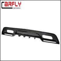 Carbon Fiber A250 W176 A45 AMG Rear Bumper Diffuser For Mercedes Benz A45