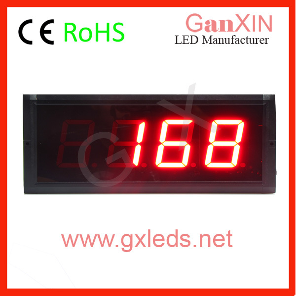 4 digit popular low price led digital clock display