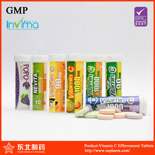 Vitamin C with Zinc Effervescent Tablets