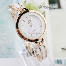 2017 hot sale quartz watch lady women wrist stainless steel watch for women