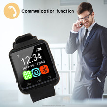 Best price u8 smart watch LED digital waterproof sports watch ios/android smart watch