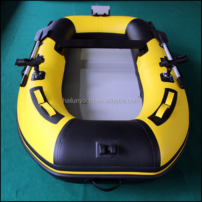 Popular rubber fishing boat for sale