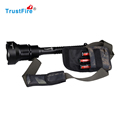High power 1000 Lumens TrustFire Self Defensive Rechargeable Led Torch Flashlight