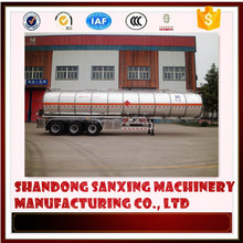Fuel Oil Tank Semi-trailer configure option fuel tanker truck Air Suspension