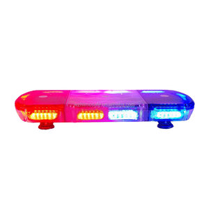 Emergency LED Mini Light Bar with Alley Lights