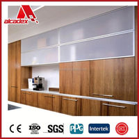 3mm PE kitchen wall covering panels/acp panels for kitchen
