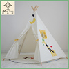 CE certification kids children play teepee party house inflatable tent kids indian teepee tent for sale