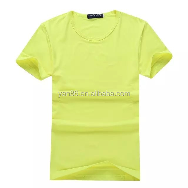most fashionable cheap customized pullover blank t shirt