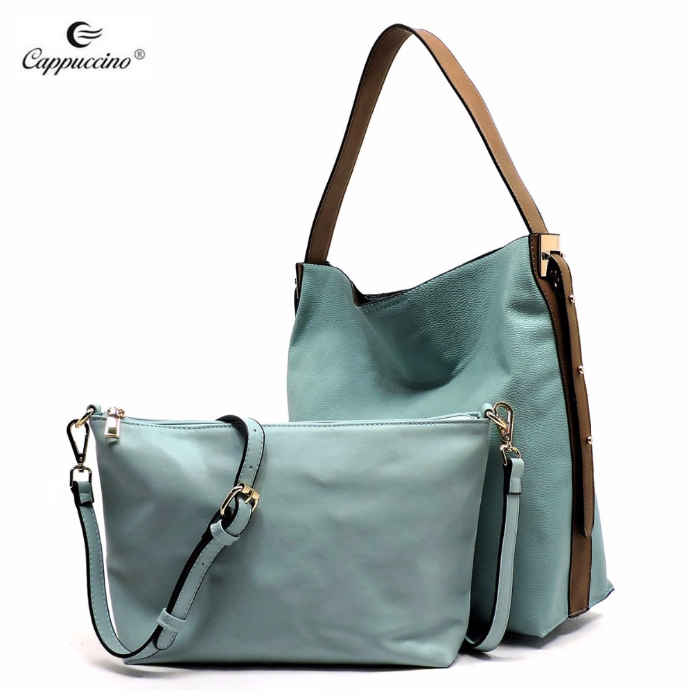2018 Hot sale new design and high quality fashion faux vegan <strong>leather</strong> handbags for women