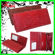 Fancy and fashion trends design PU leather wallet and purses for girls with trade assurance