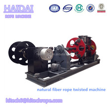 3 Strand Rope Making Machine For Twisting Natural Fiber Rope
