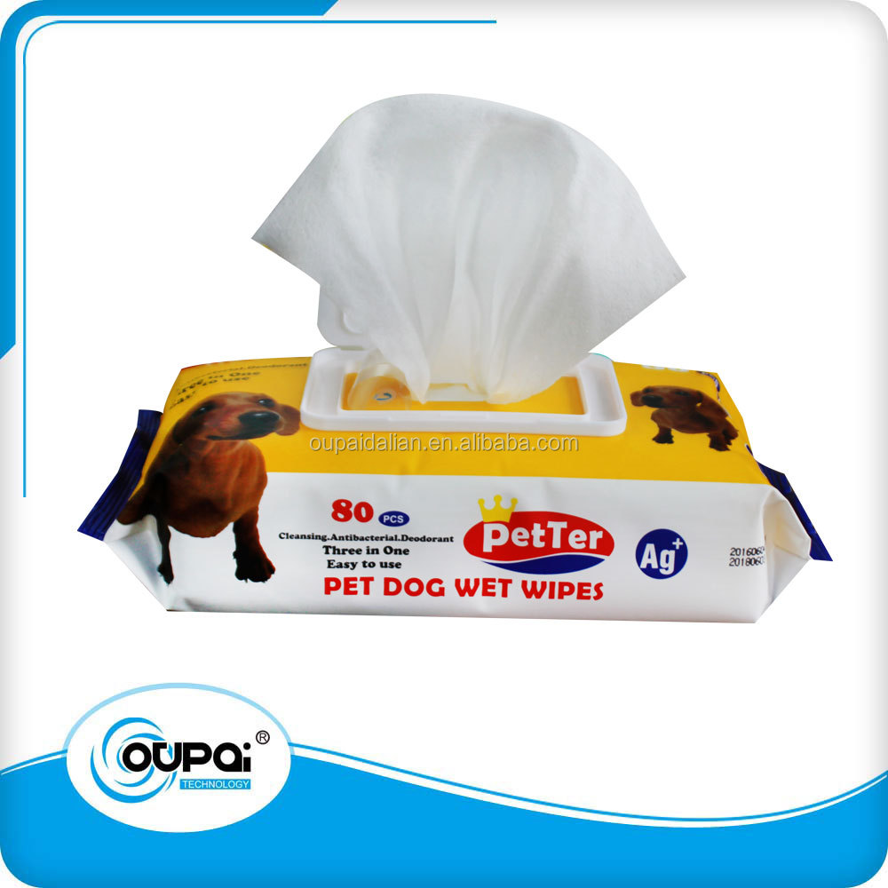 grooming wet wipes for pet