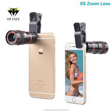 2017 Universal Phone Lens 8X Zoom Mobile Phone Camera/Telescope Lens for Iphone Samsung Android Smartphone