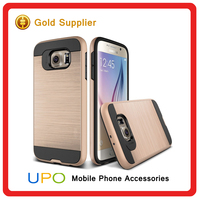 [UPO] Promotion Fashion Hard Plastic PC TPU Mobile Phone Case for Samsung Galaxy s6