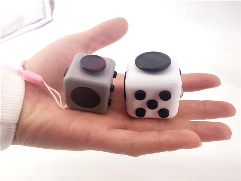 3d magic fidget cube magnetic cube toy fidget desk toy