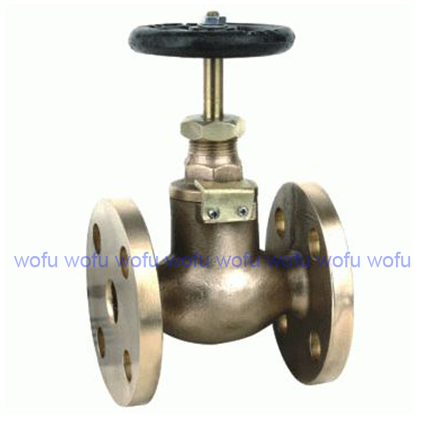 Flanged ends resilient seat non-rising stem gate valve, fire department connection 100mmx65mmx 65mm, brass gate valve with cap