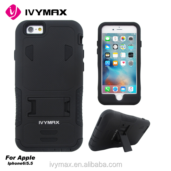 100% in-stock! Newest mobile phone cover Armor Impact Holster Belt Case For iphone 6s plus Case Cover
