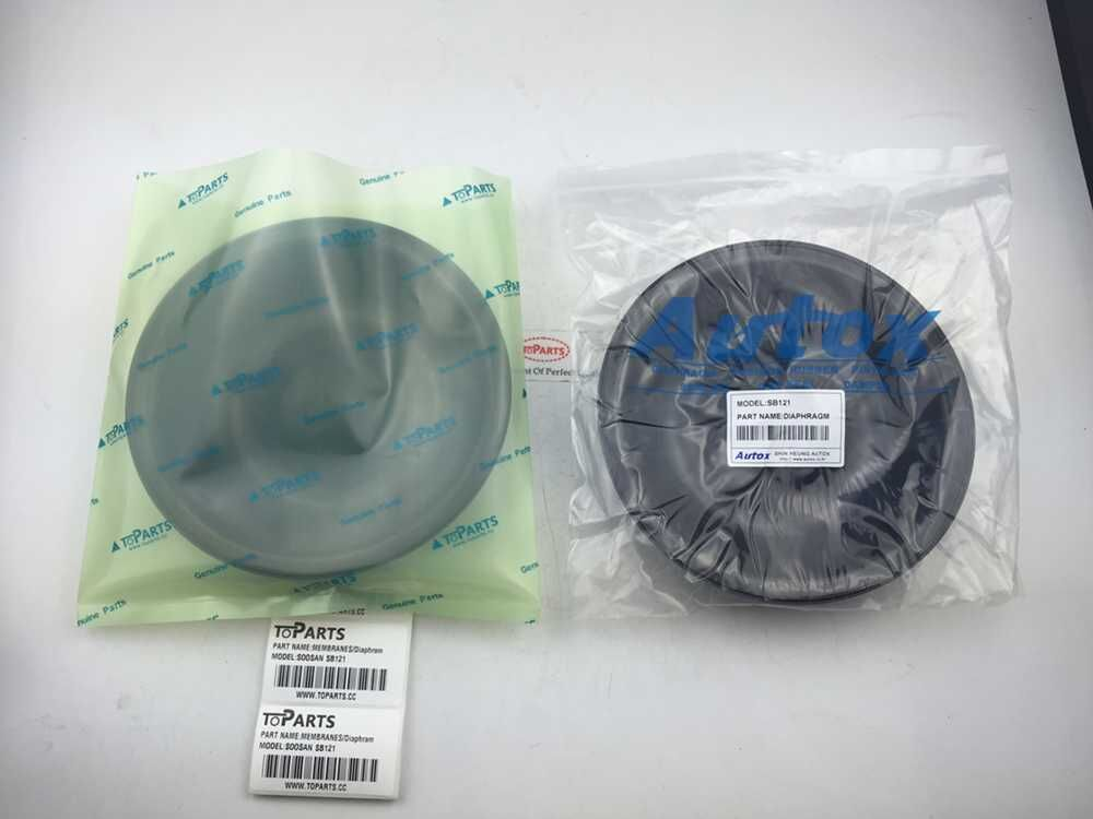 Rubber diaphragm for hydraulic breaker hb200