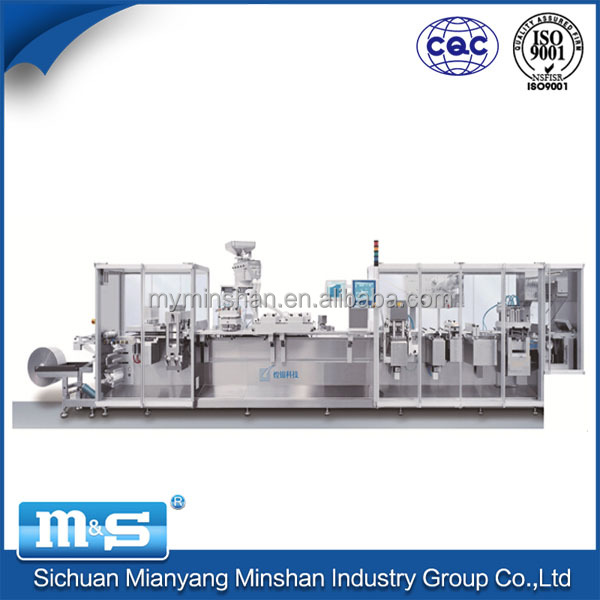 Huangjin factory supply blister packaging and deeping machine