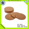 Wholesale classic design custom round cork coasters