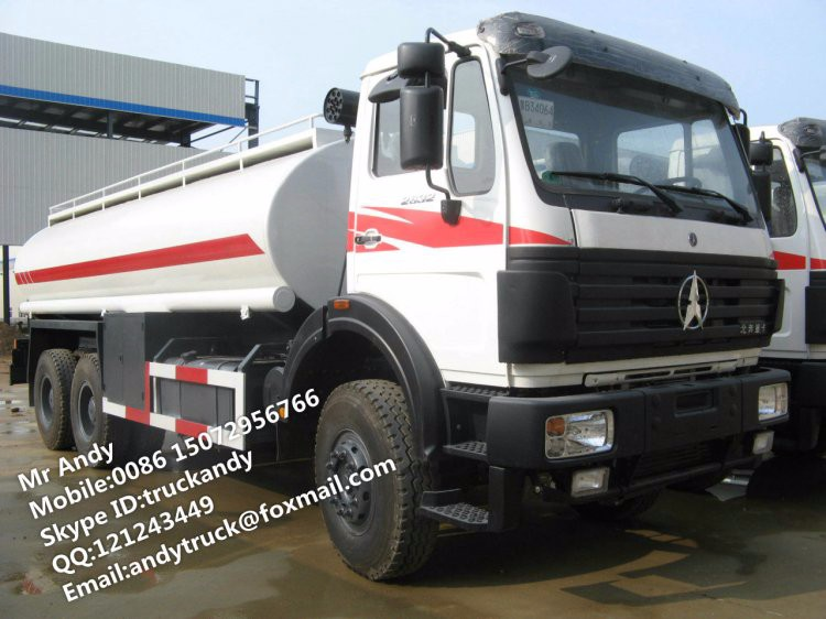 BEIBEN 6x6 water delivery truck