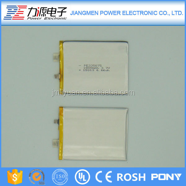 Wholesale low price high quality li-ion battery pack 3.7v 1800mah