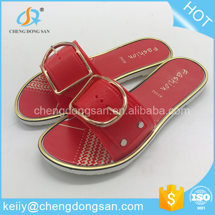 Wholesale novelty latest designs flat sandals for ladies pictures
