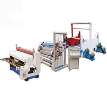 used corrugated board carton box sheet cutting making machine