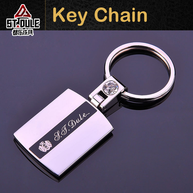 Copper key chain customize with logo