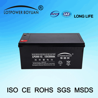 SOLAR battery original 12V 200AH iso battery 12v 5ah motorcycle battery NEW China Products