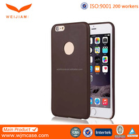 Soft Touch PU Leather Original Ultrathin Leather Case For IPhone 6/ Plus Factory