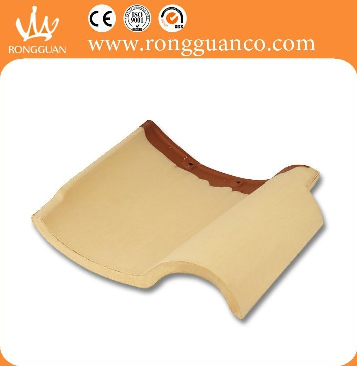 yellow color japanese design roof tile